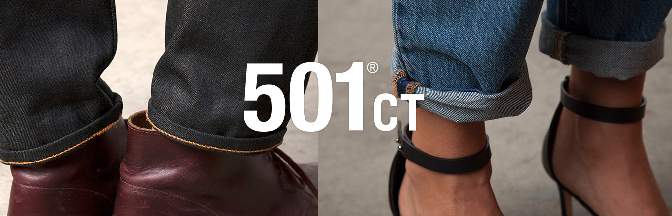 Introducing the all new 501CT - Custom, Tapered Leg 501 jeans