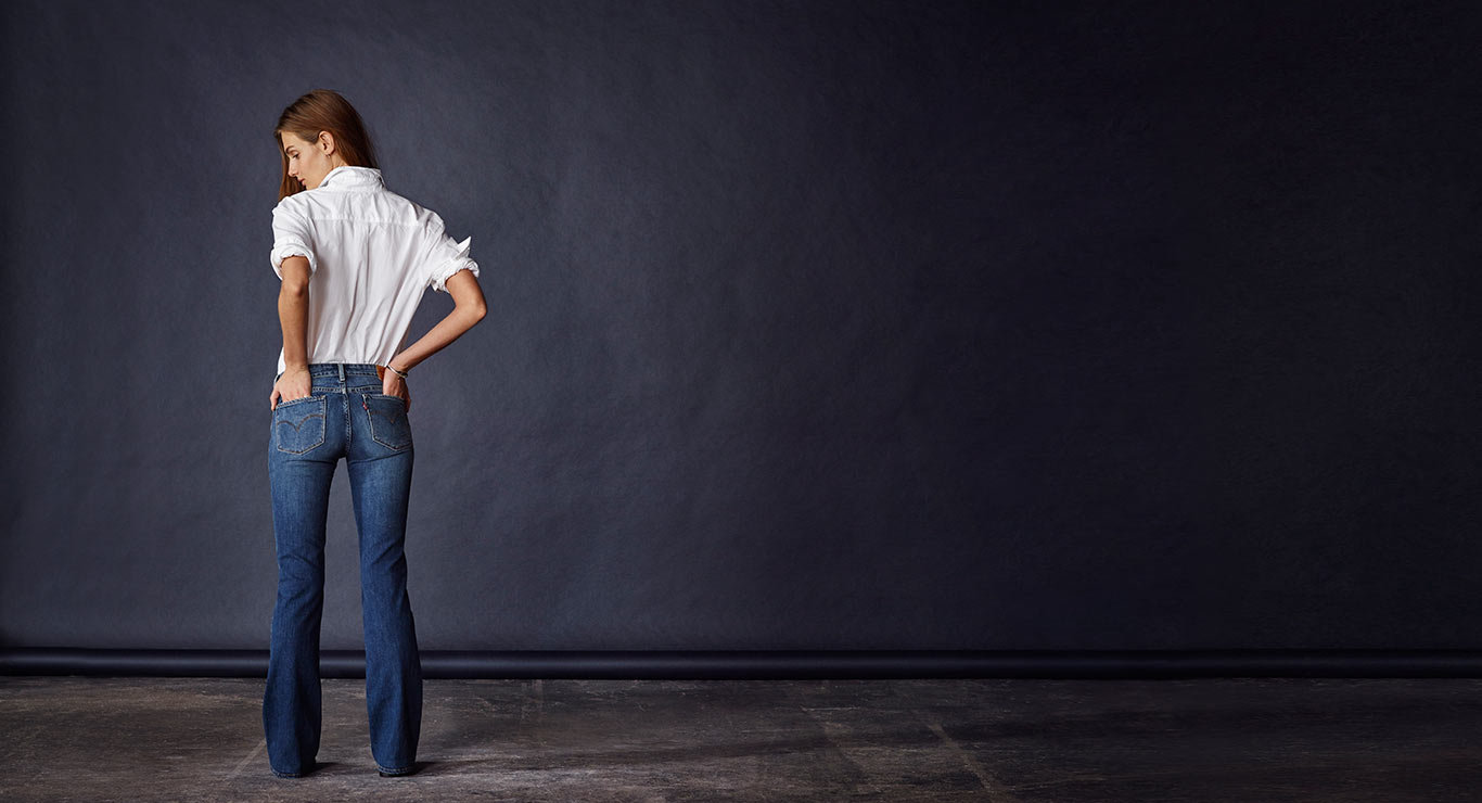 715 bootcut jeans levis