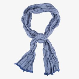 Dockers-Chambray Scarf W/ Anchor Print-Anchor Chambray