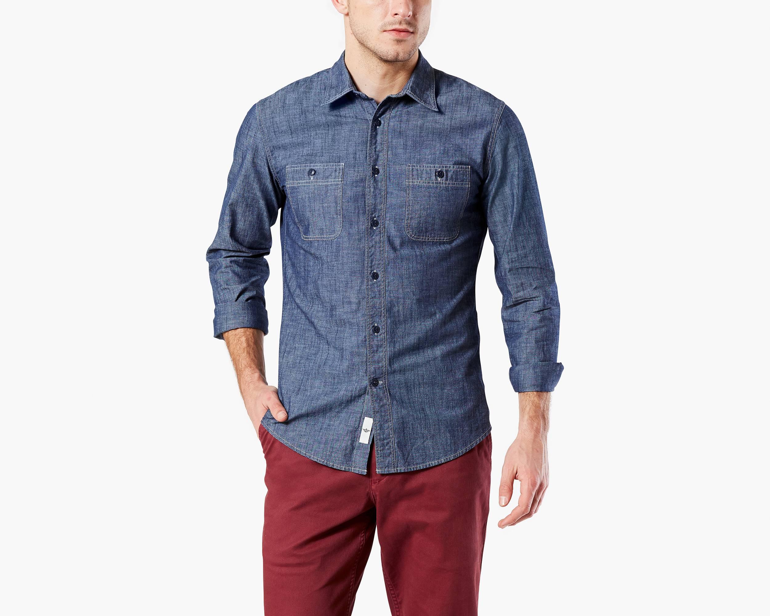 Casual Button Down Shirts for Men - Men's Casual Shirts | Dockers®