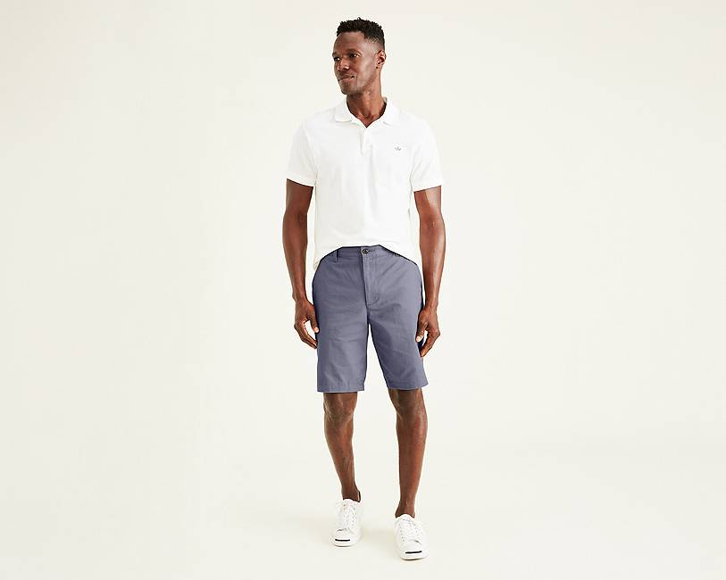 The Perfect Short, Classic Fit | Maritime Blue | Dockers® United ...