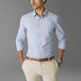 Casual Shirts Dockers-SF POPLIN SHIRT-SURF BLUE STRIPE