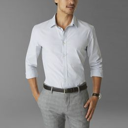Casual Shirts Dockers-SF POPLIN SHIRT-LIGHT GREY