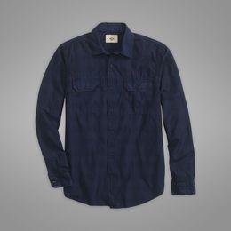 Casual Shirts Dockers-Dockers ®  Wellthread™ WOVEN  SHIRT-Dockers ®  NAVY