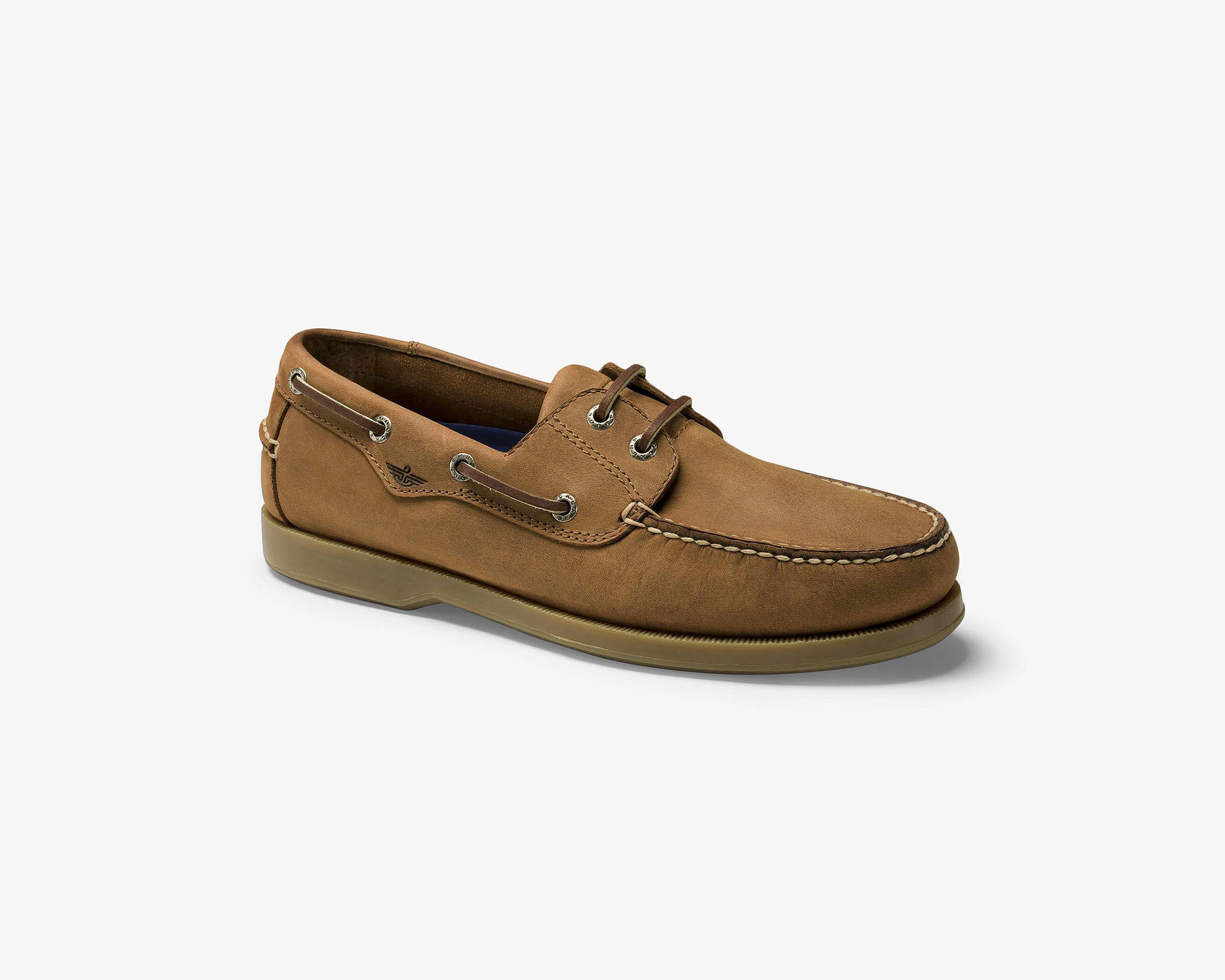 Dockers Boat Shoes Mens Brown Slip On Casual
