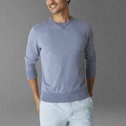 Sweatshirts Dockers-Dockers ®  WELLTHREAD™ SWEATSHIRT-MEDIEVAL BLUE
