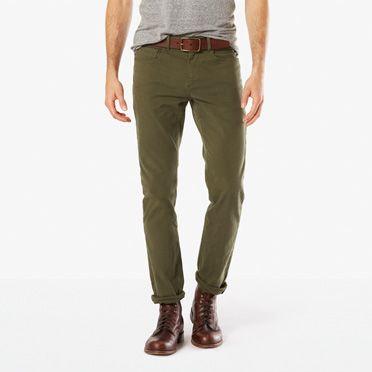 Slim Fit Khaki Pants - Shop Slim Fit Dress Pants for Men   Docker s®