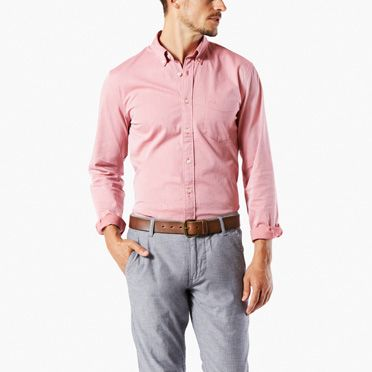 Men's Dress Shirts - Shop Button Up Shirts for Men | Dockers®