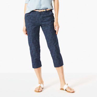 Capri Pants for Women - Shop Women's Capris | Dockers®