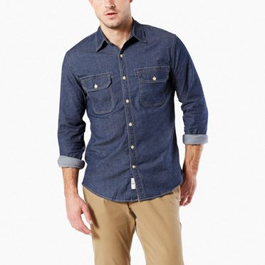 Casual Button Down Shirts for Men - Men's Casual Shirts | Dockers®