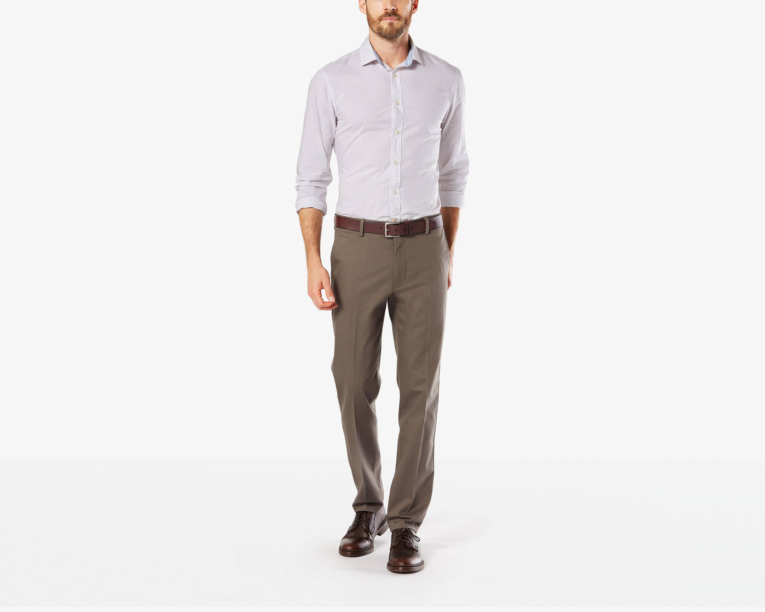 Khaki Stretch Pants - Signature Stretch Khakis | Dockers®