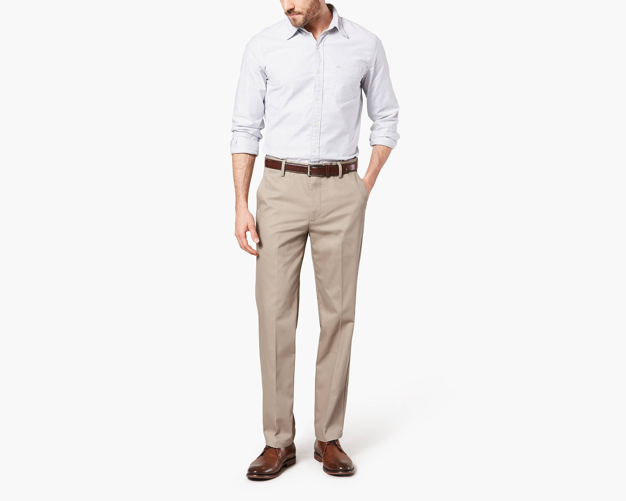 Slim Fit Signature Khaki - Shop Slim Fit Signature Khaki Pants ...