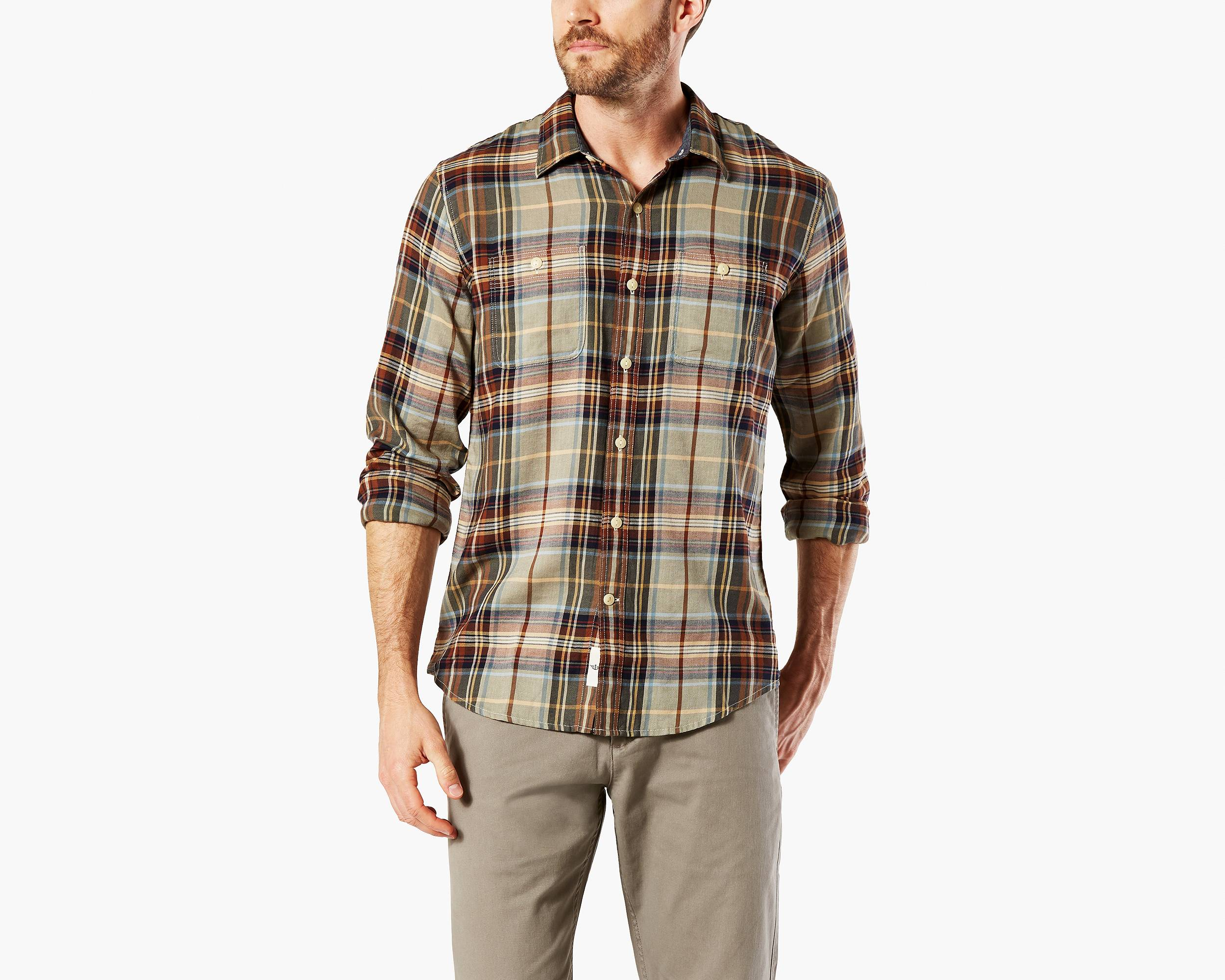 Mens Check amp Plaid Dress Shirts  Nordstrom