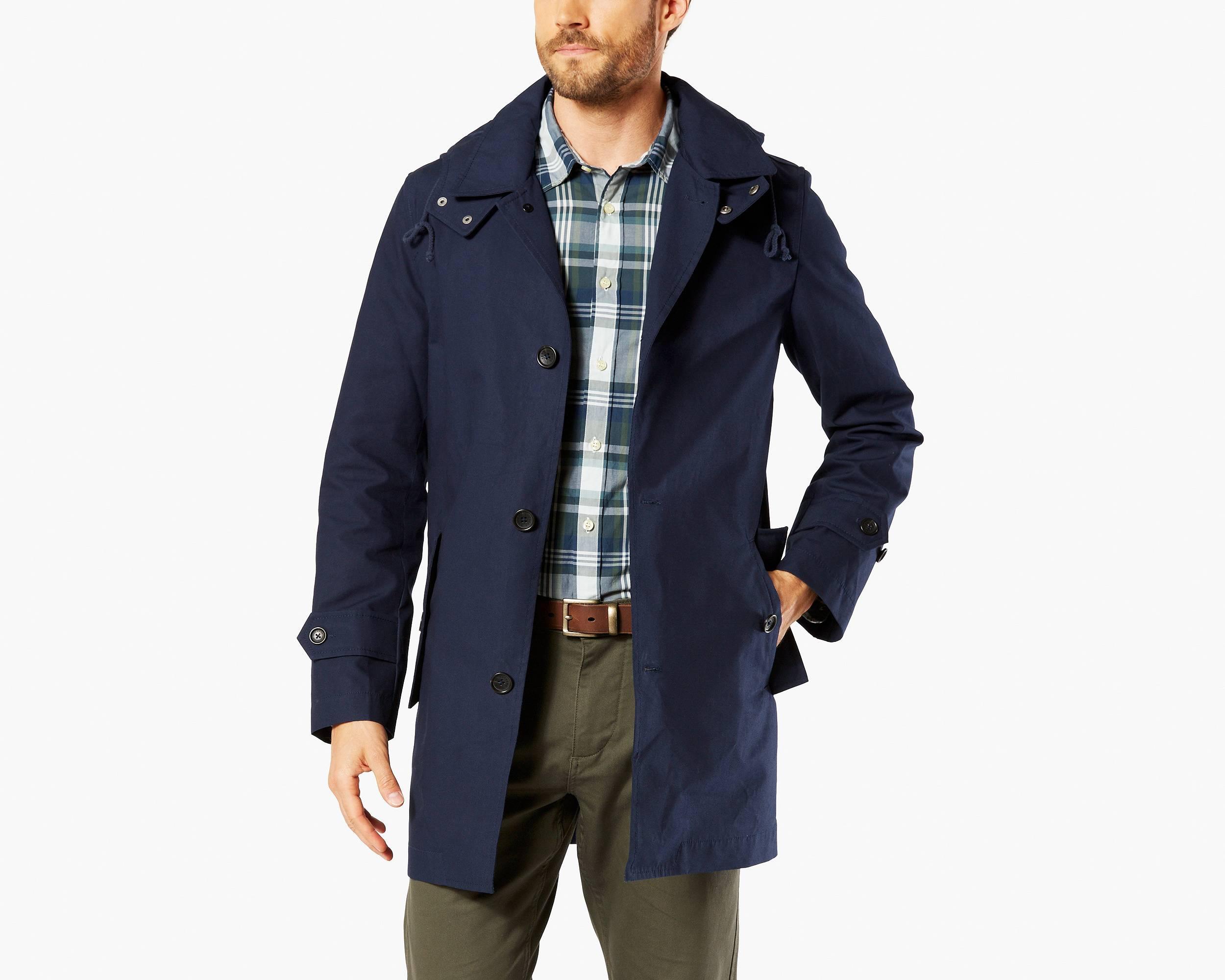 Mens khaki jacket casual - Quick View