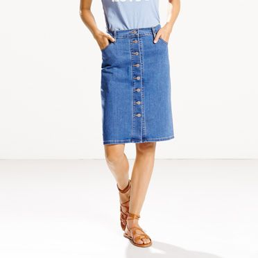 Denim skirt levis – Fashionable stylish clothes this season