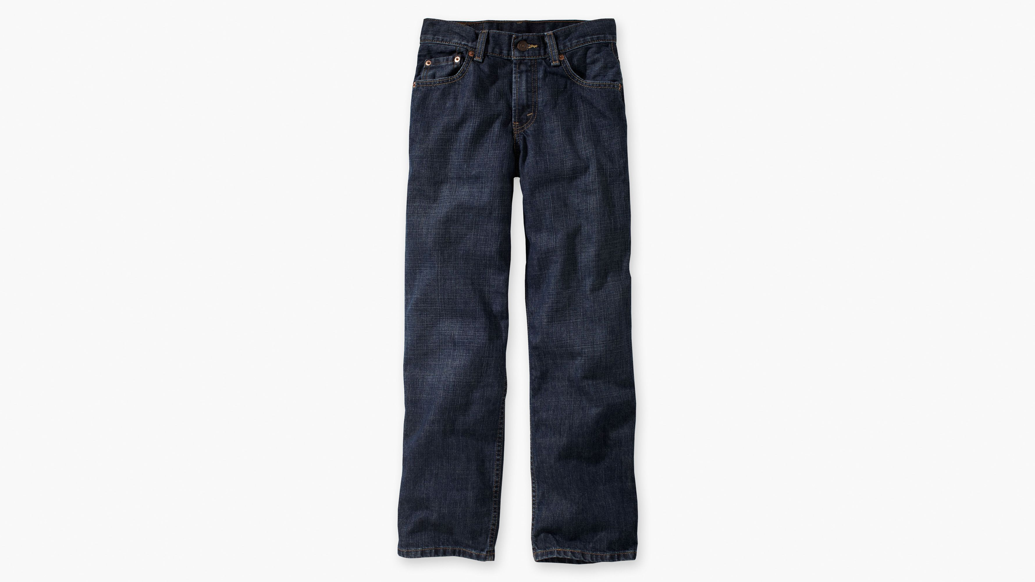Boys (8-20) 550™ Relaxed Fit Jeans (Slim) - Dark Crosshatch
