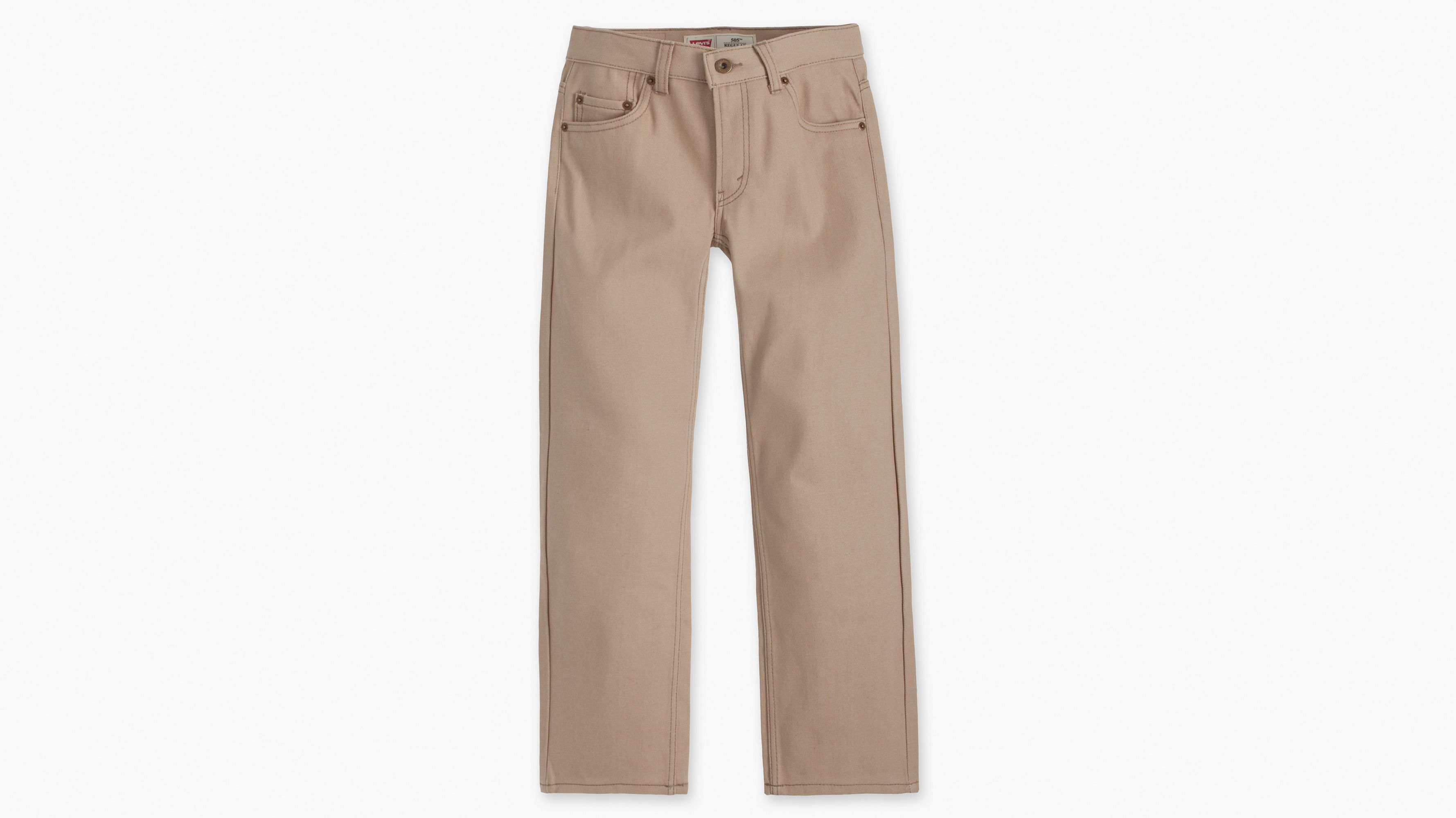 Boys (8-20) 505™ Regular Fit Jeans - Sand