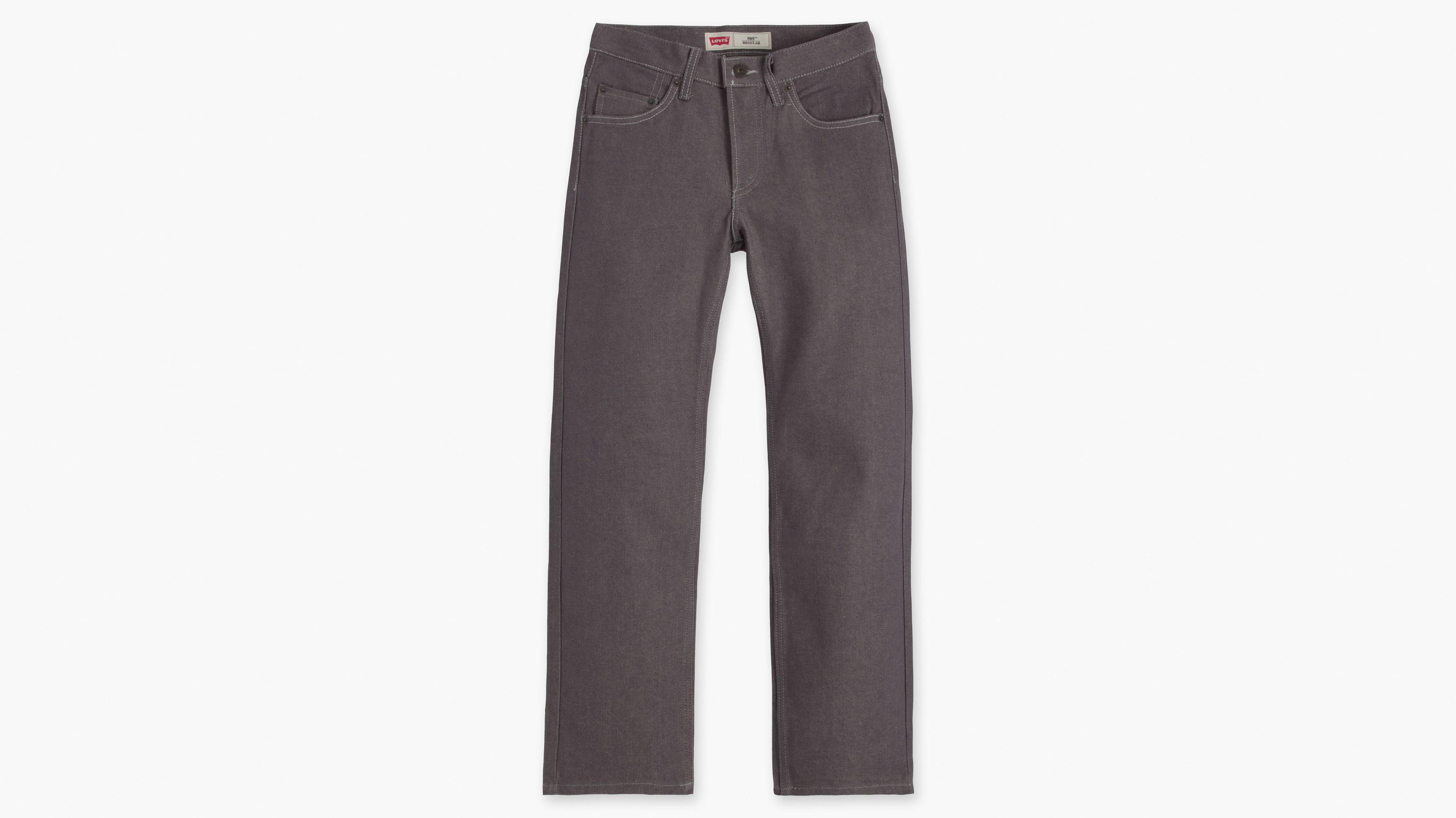 Boys (8-20) 505™ Regular Fit Jeans - Rigid Silver