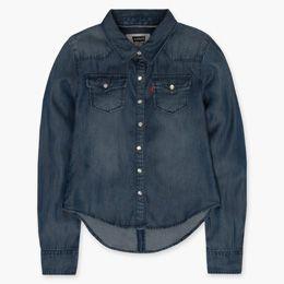 Girls (7-16) Denim Western Shirt