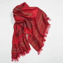 Levis-Santa Fe Wool Wrap-Red