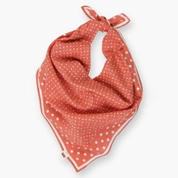 """""""Levis-Dotted Bandana Scarf-Spiced Coral"""""""
