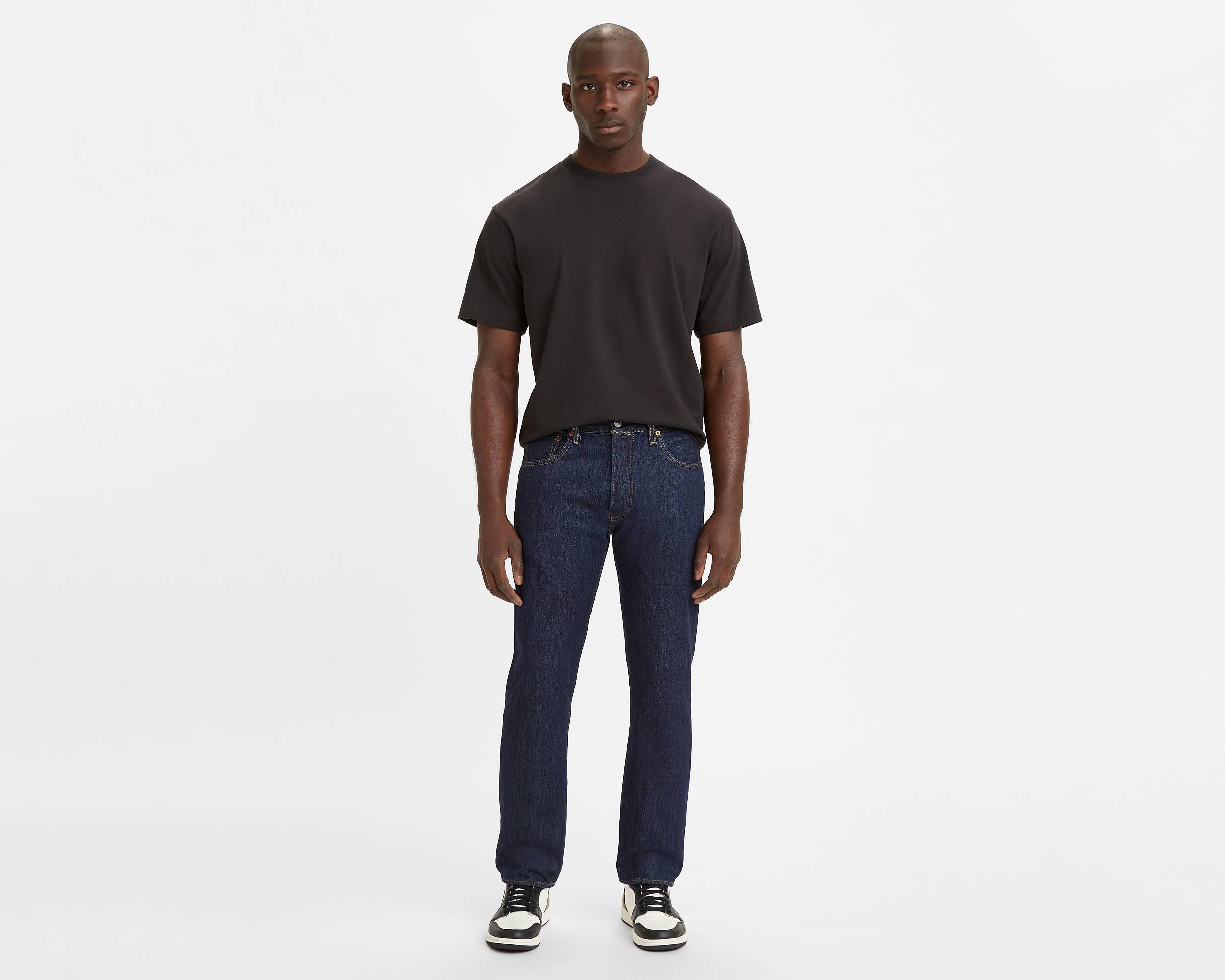 dark blue button fly 501 jeans for men levi 39 s. Black Bedroom Furniture Sets. Home Design Ideas