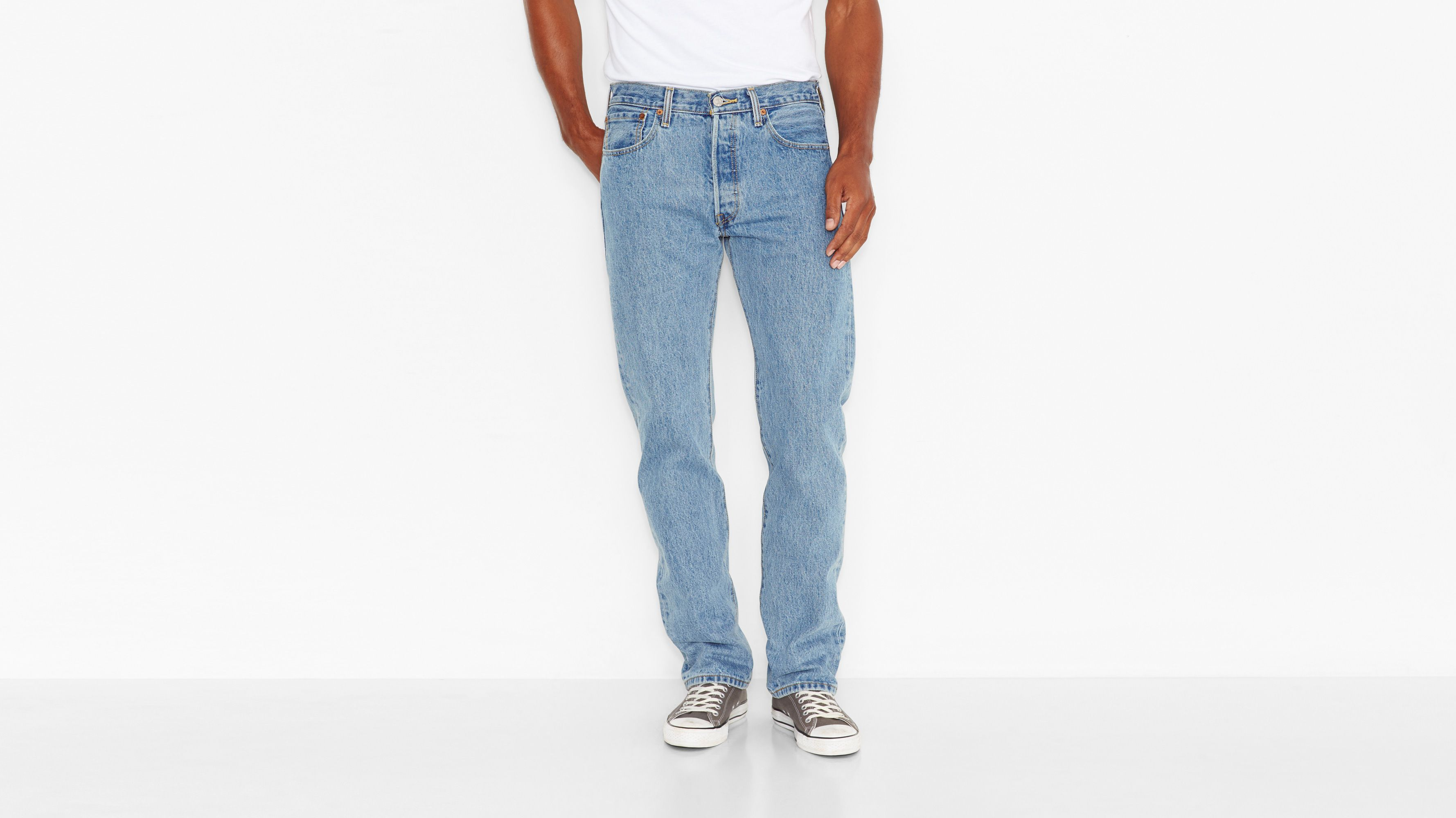 501® Original Fit Jeans - Light Stonewash