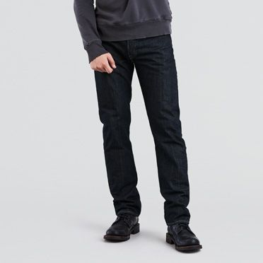 Dark Stonewashed Levi's 501® Jeans for Men | Levi's®