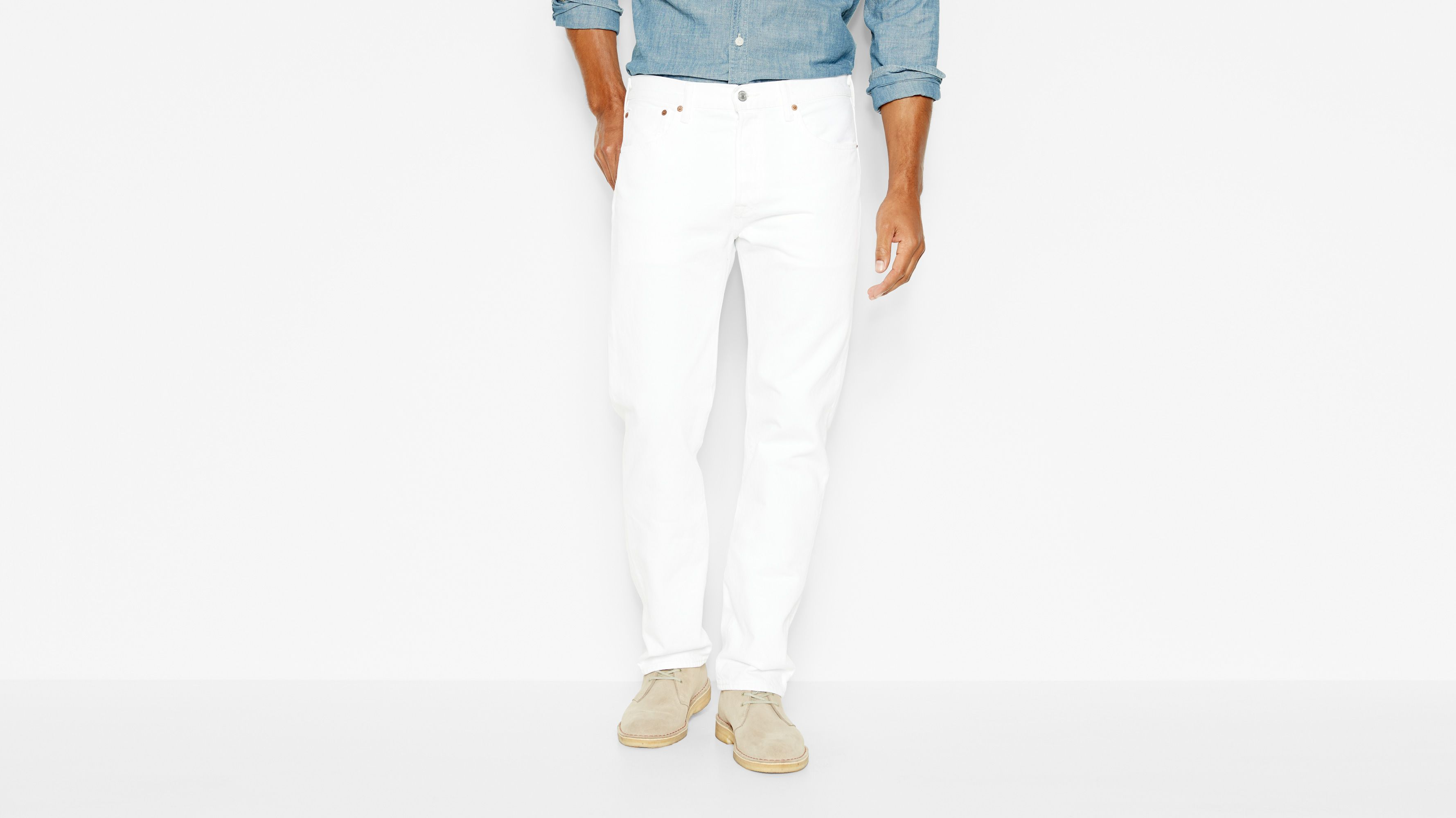 501® Original Fit Jeans - Optic White