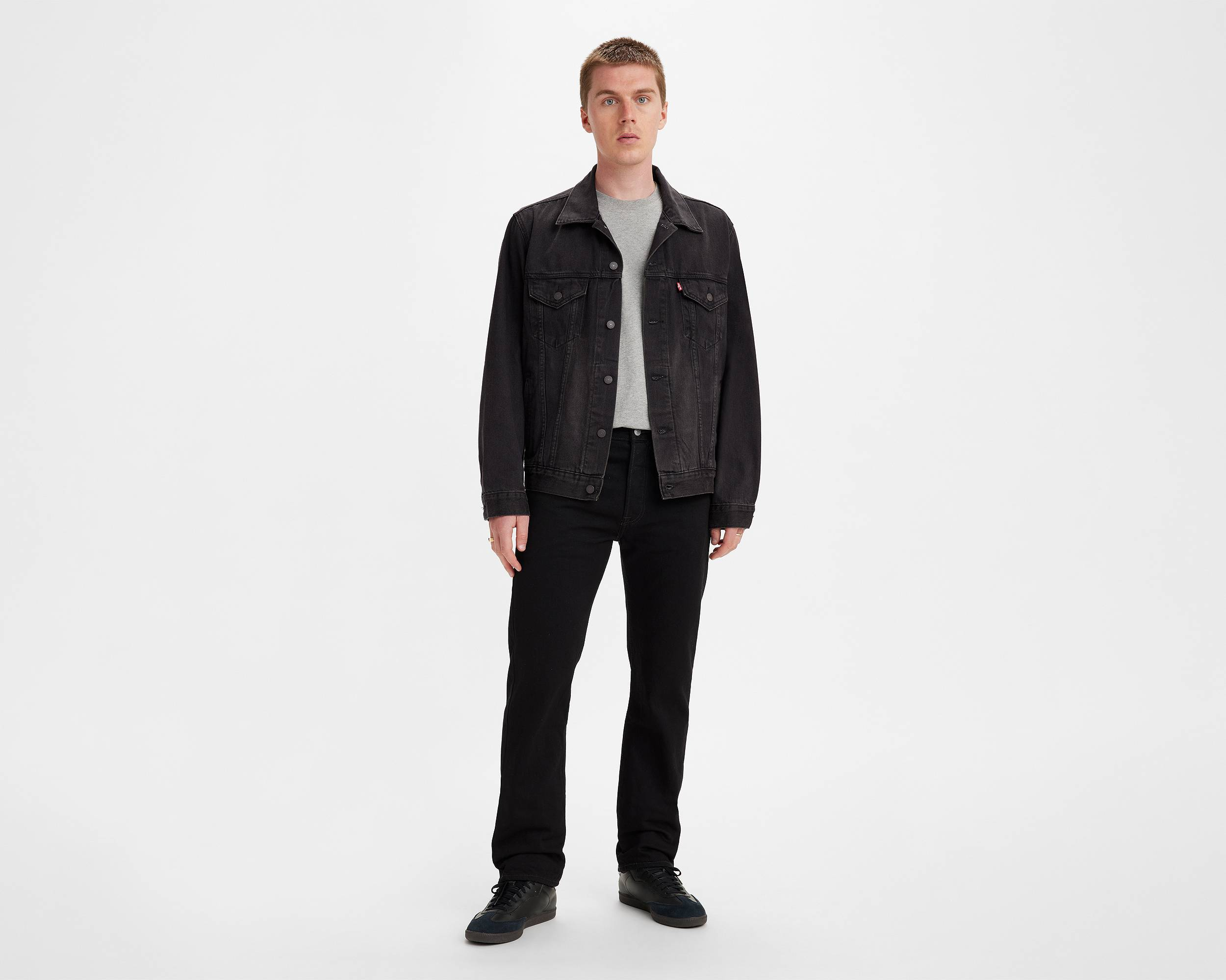 Black Over-Dyed 501® Jeans for Men| Levi's®