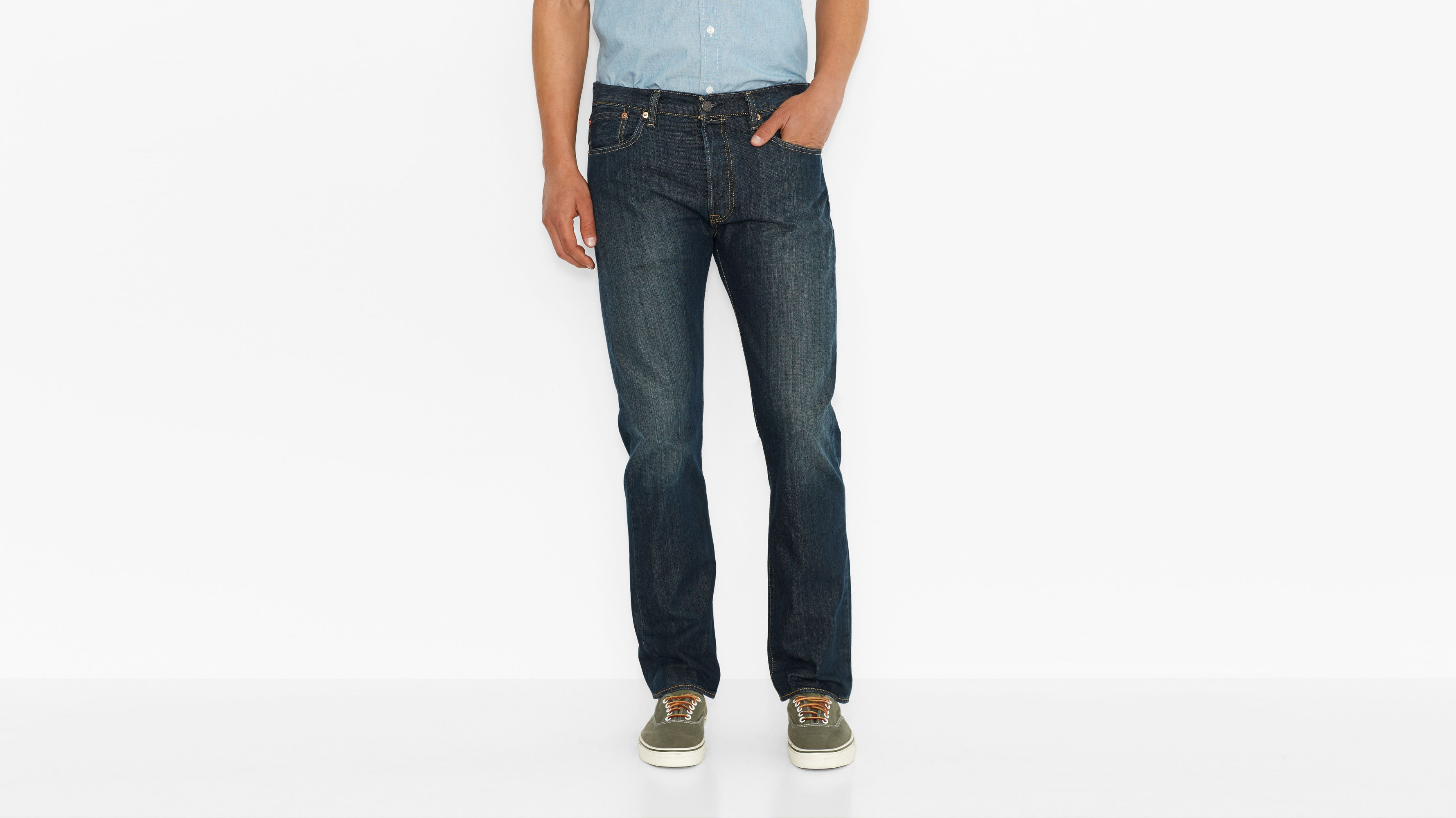 501® Original Fit Jeans - Drainpipe