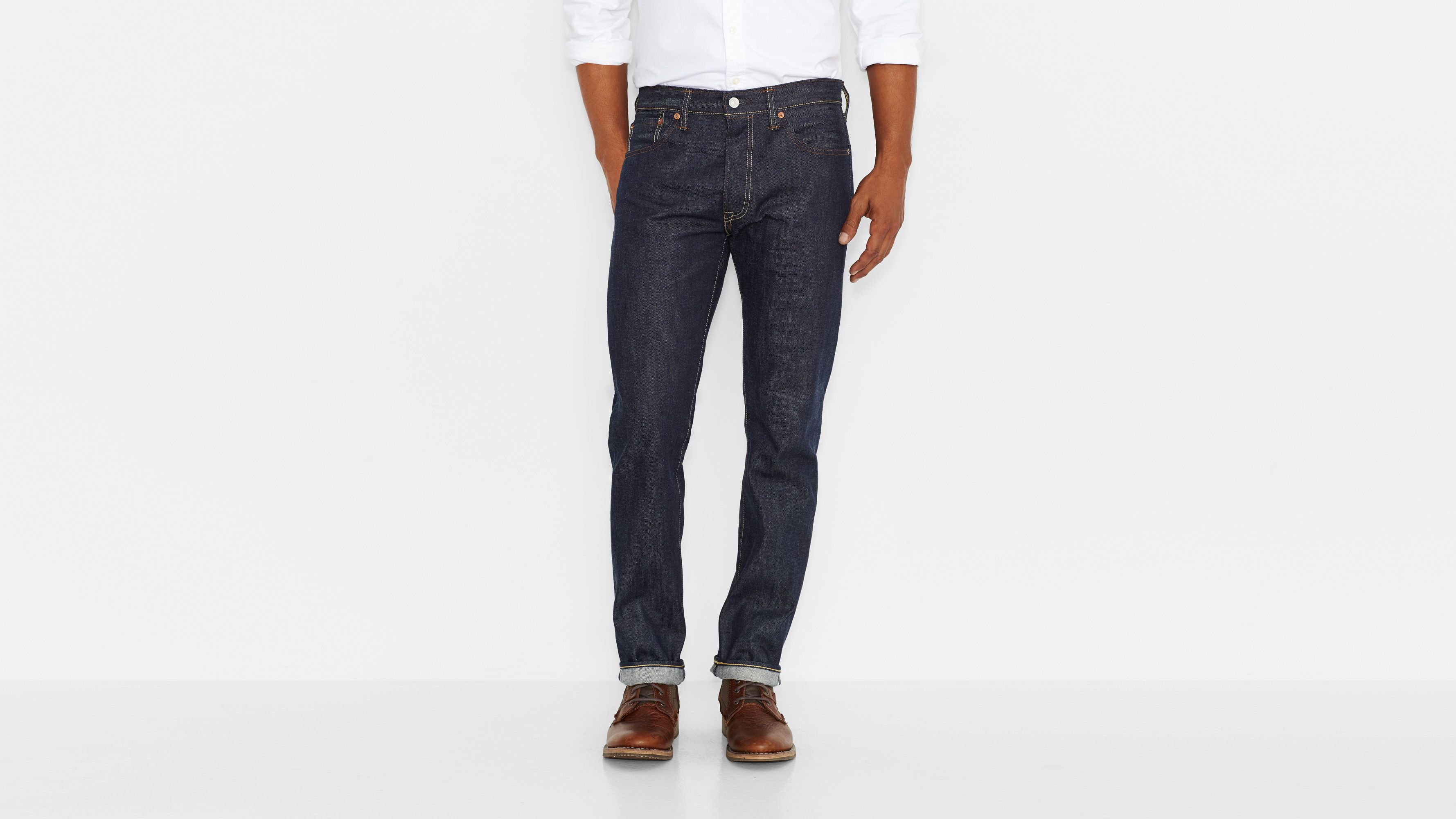501® Original Shrink-to-Fit™ Selvedge Jeans - Long Day