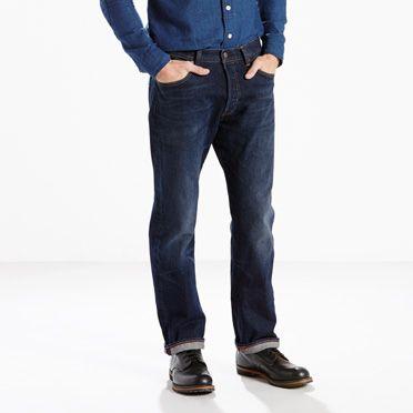 """""""Levis-501® Original Fit Stretch Jeans-Chip"""""""