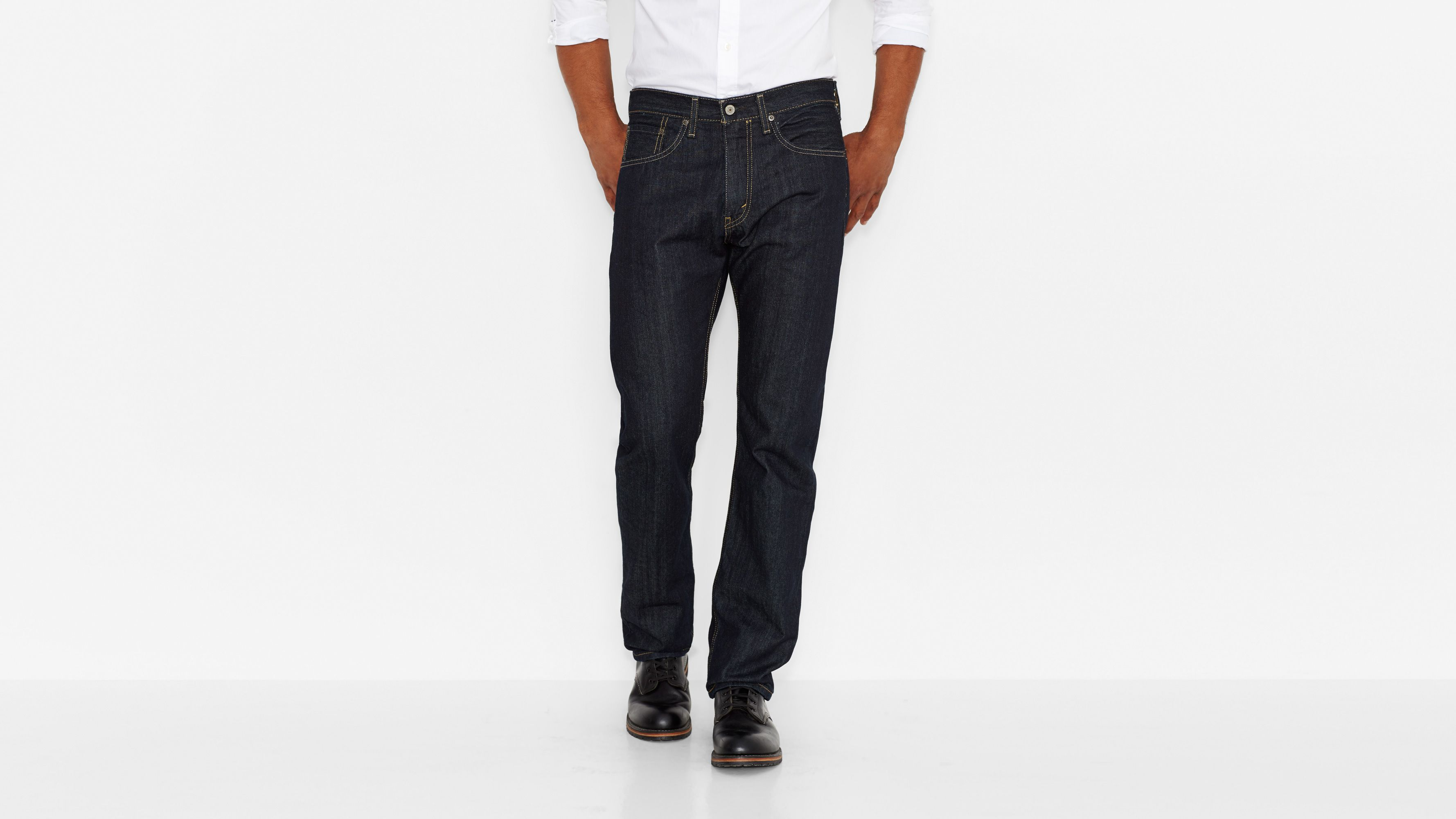 505™ Regular Fit Jeans - Tumbled Rigid