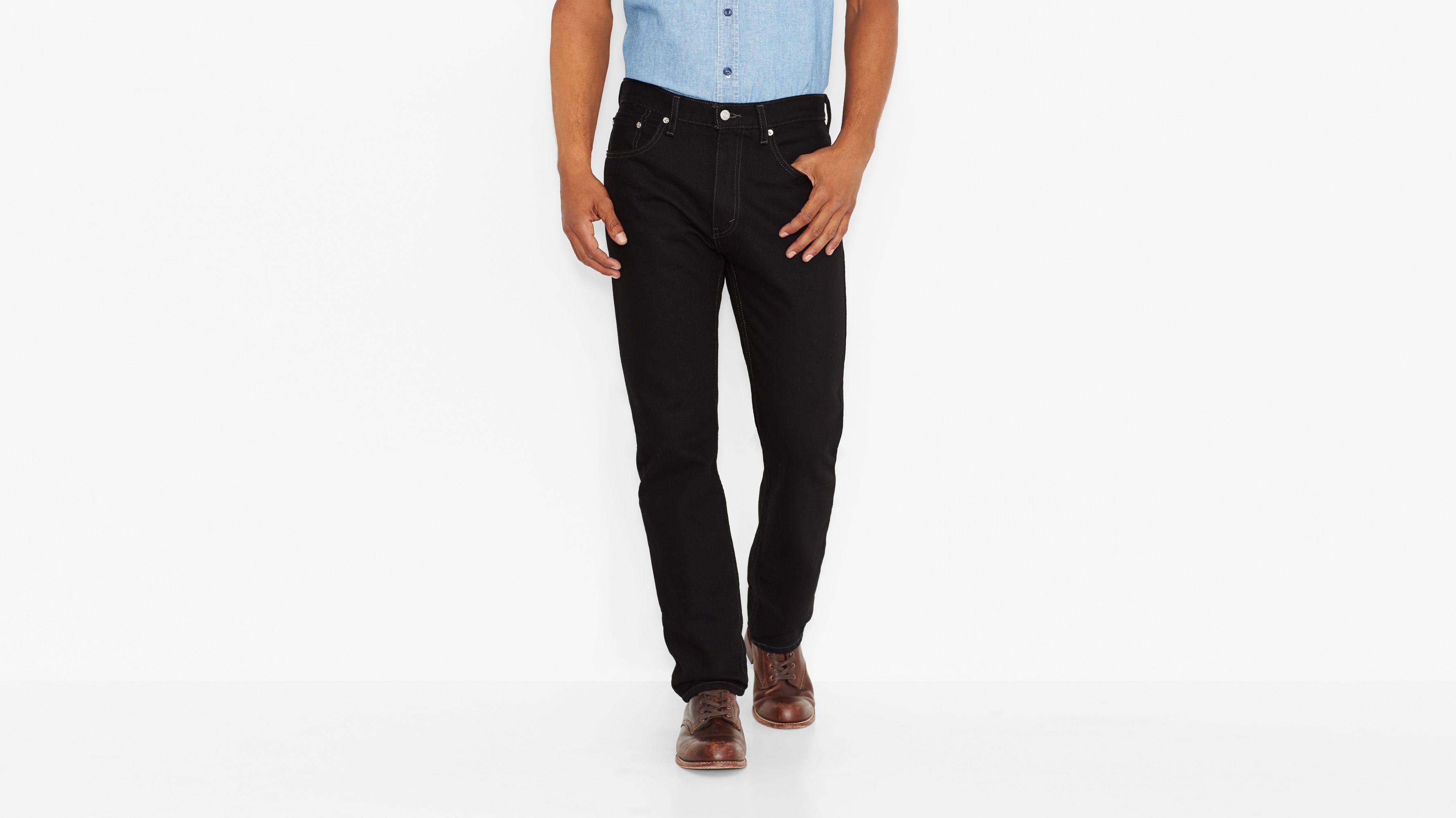 505™ Regular Fit Jeans - Black
