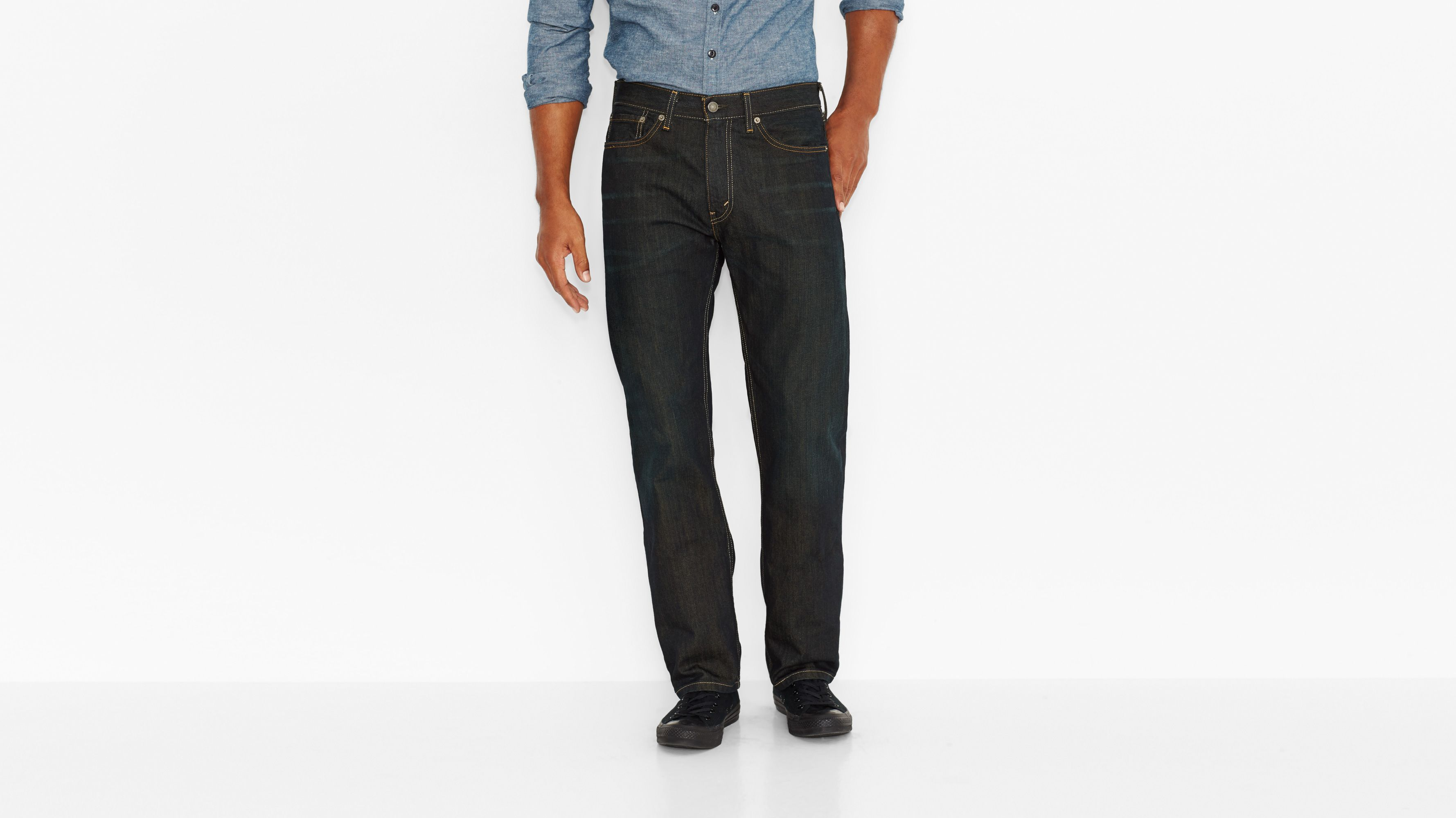 505™ Regular Fit Jeans - Fume