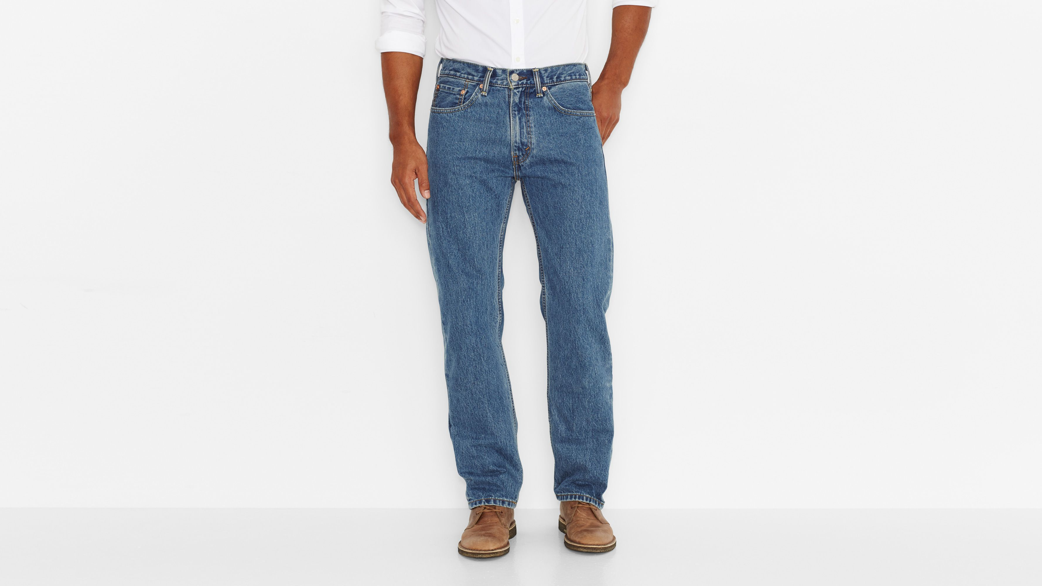 505™ Regular Fit Jeans - Medium Stonewash