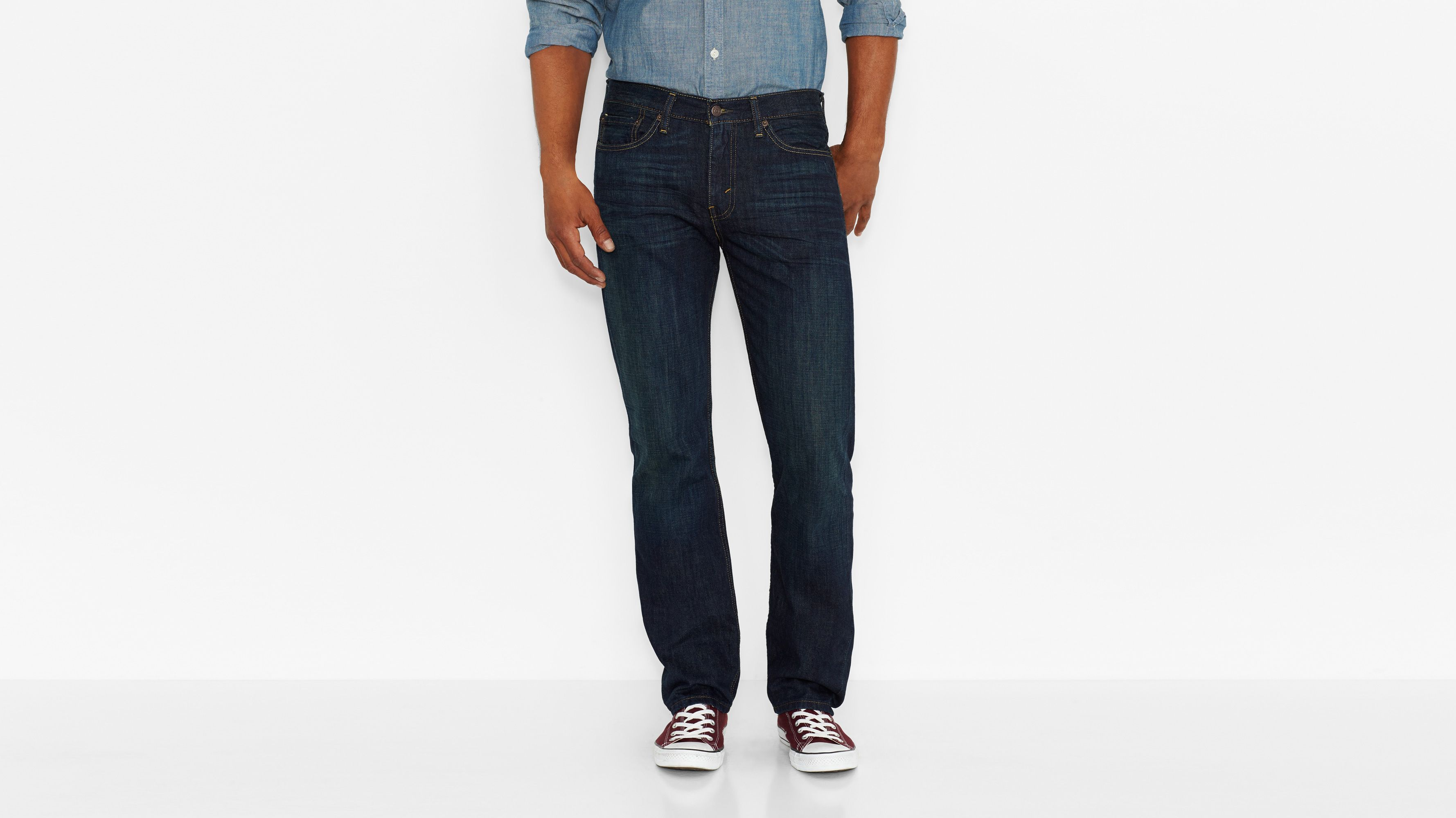 514™ Straight Fit Jeans - Kale
