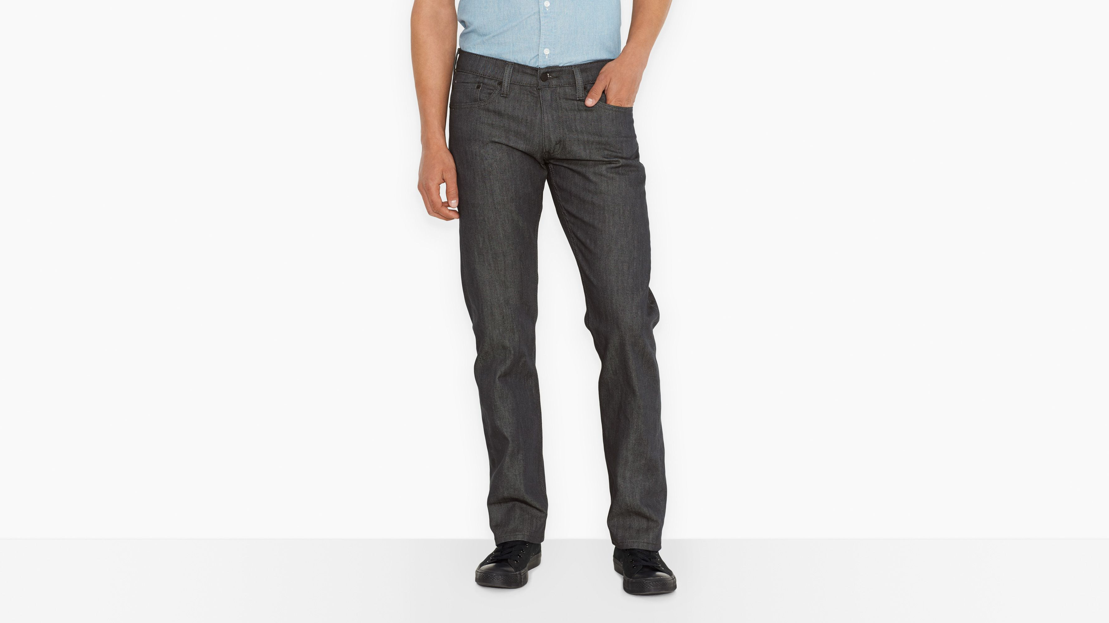 514™ Straight Fit Jeans - Rigid Grey