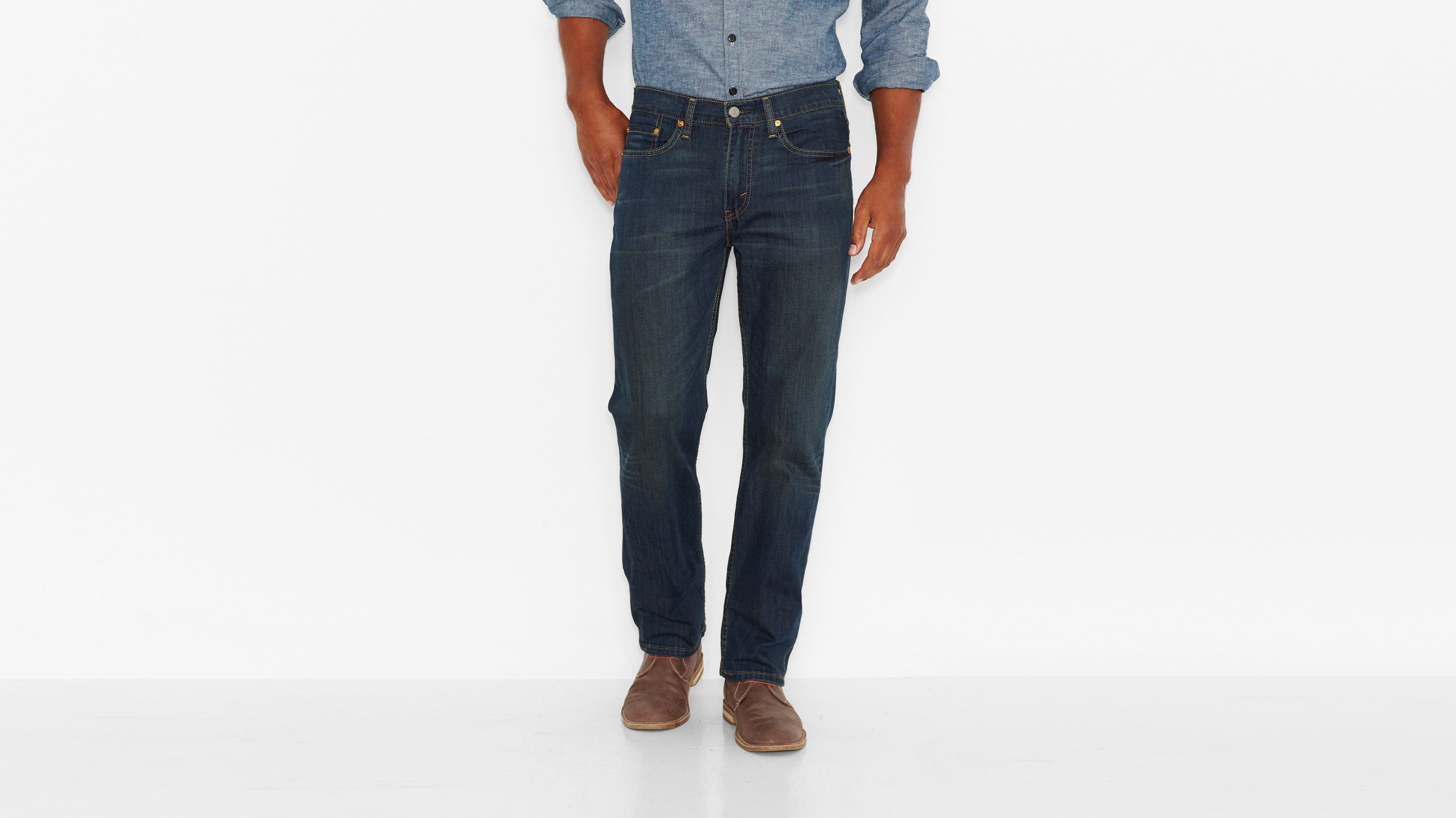 514™ Straight Fit Jeans - Covered Up