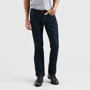 Levis Mens 514 Straight Fit Stretch Jeans