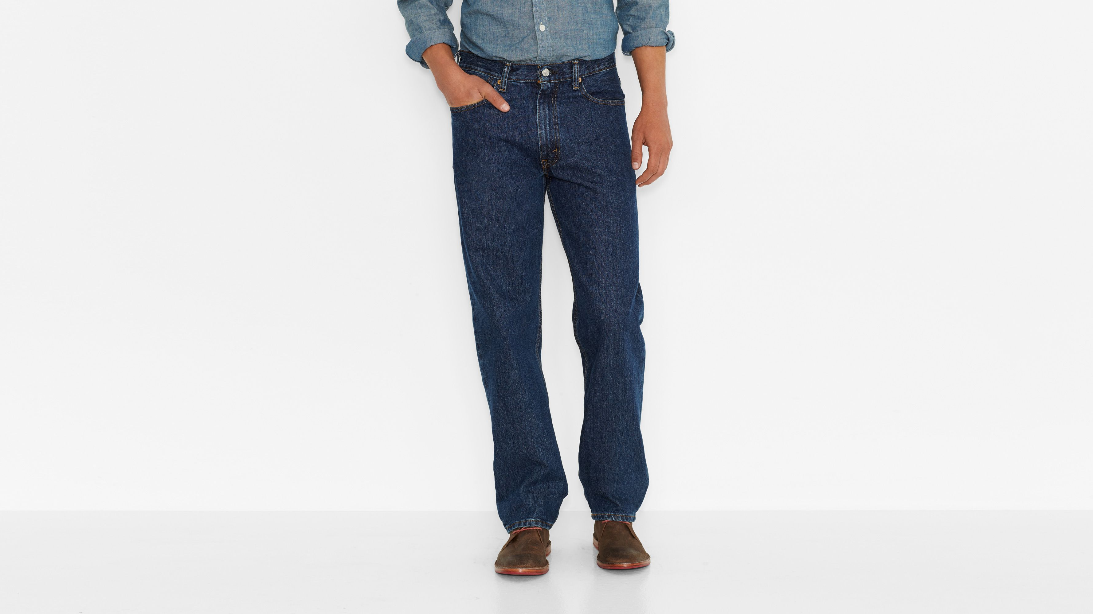 550™ Relaxed Fit Jeans - Dark Stonewash