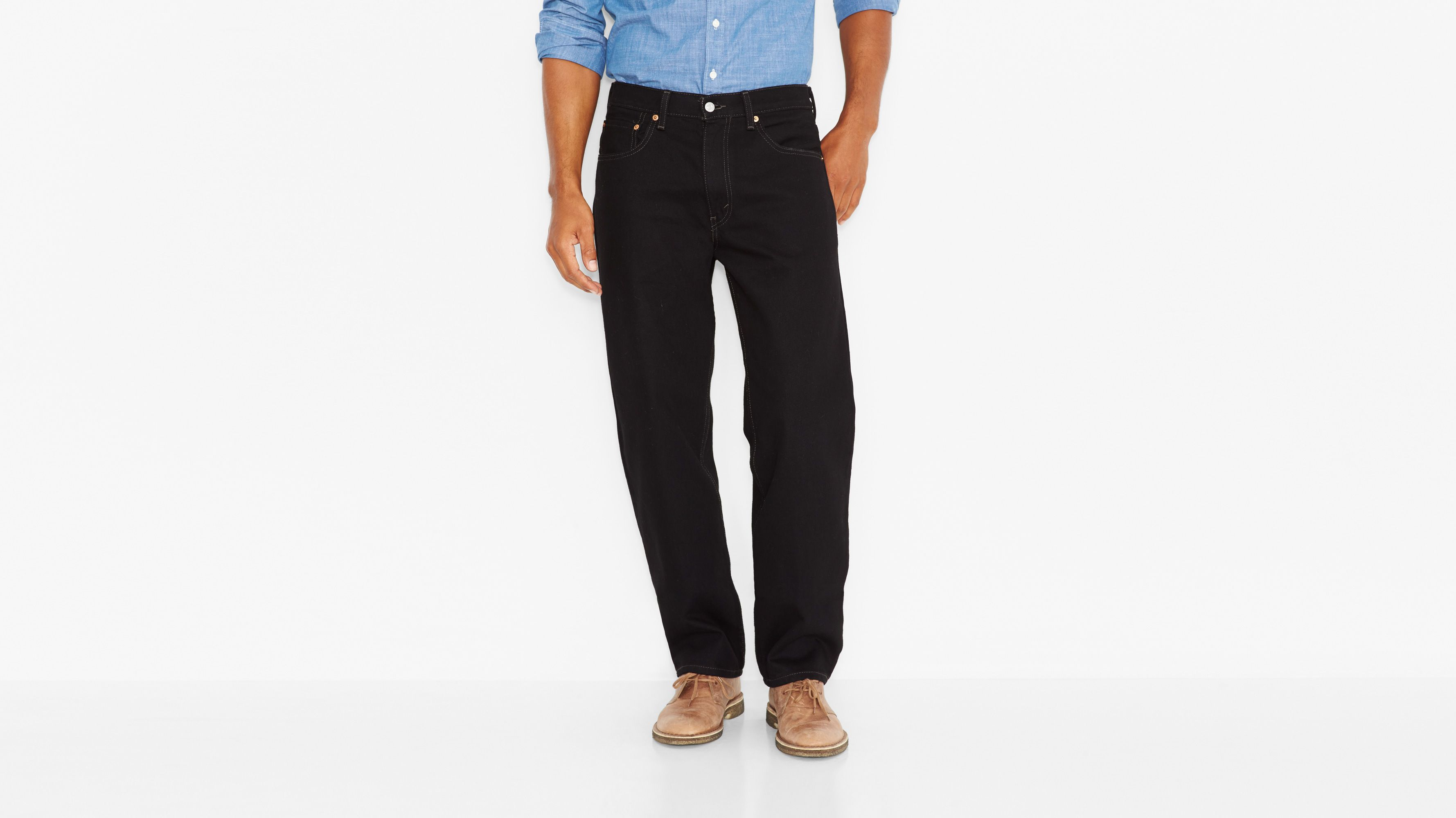 550™ Relaxed Fit Jeans (Big & Tall) - Black