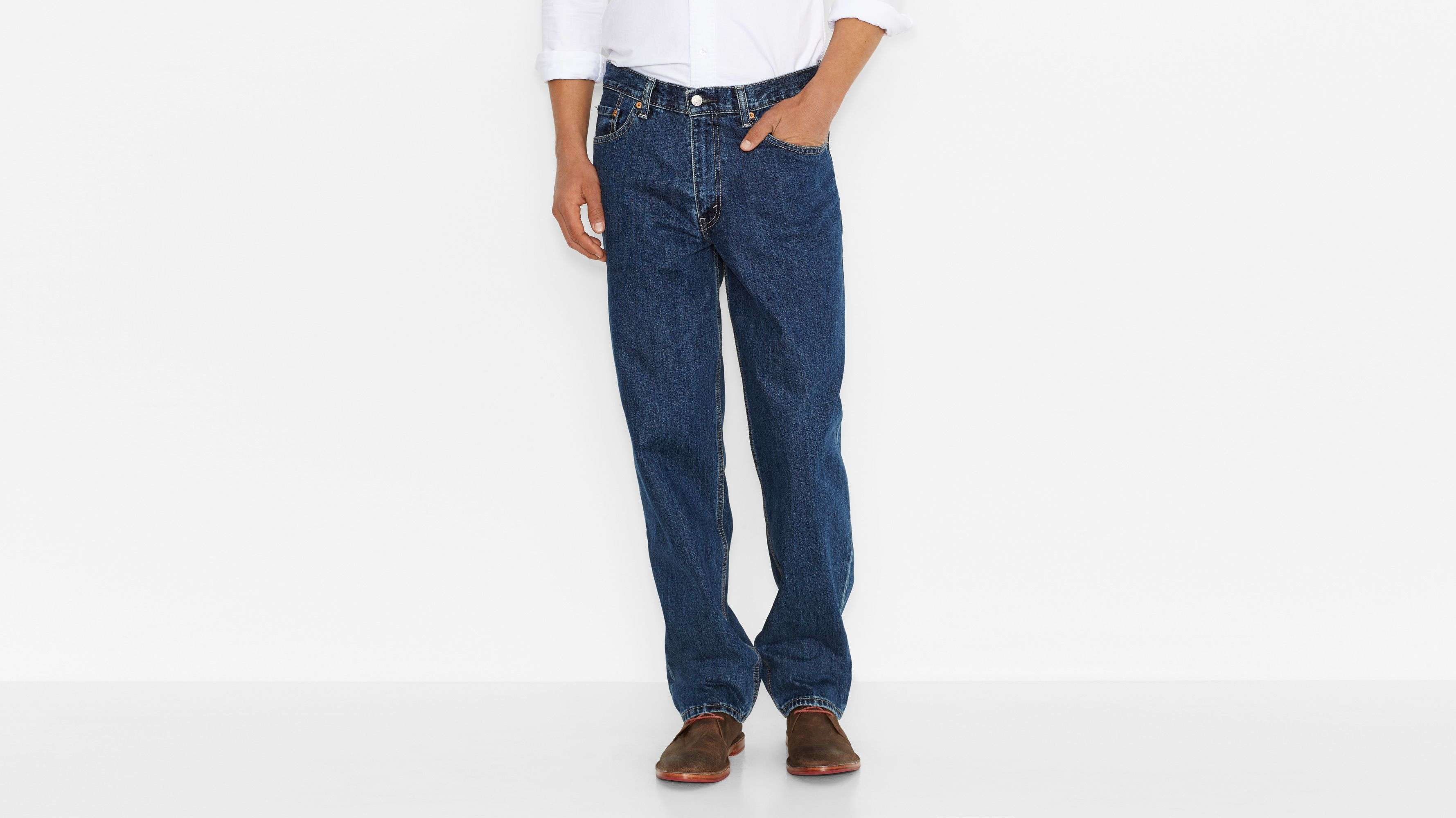 560™ Comfort Fit Jeans (Big & Tall) - Dark Stonewash