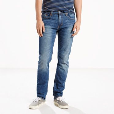 511™ Blue Black Raw Denim Slim Jeans for Men | Levi's®