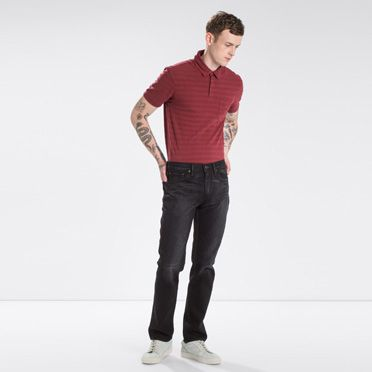 """Levis-511™ Slim Fit Jeans-Nano Black"""