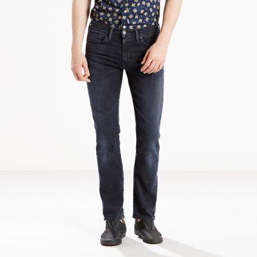 Men's Levi's 511™ Skinny Stretch Jeans in Black | Levi's®