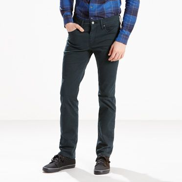 """Levis-511™ Slim Fit Performance Stretch Jeans-Caviar Motion"""