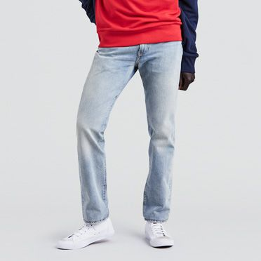 Jean slim bleu clair pas cher