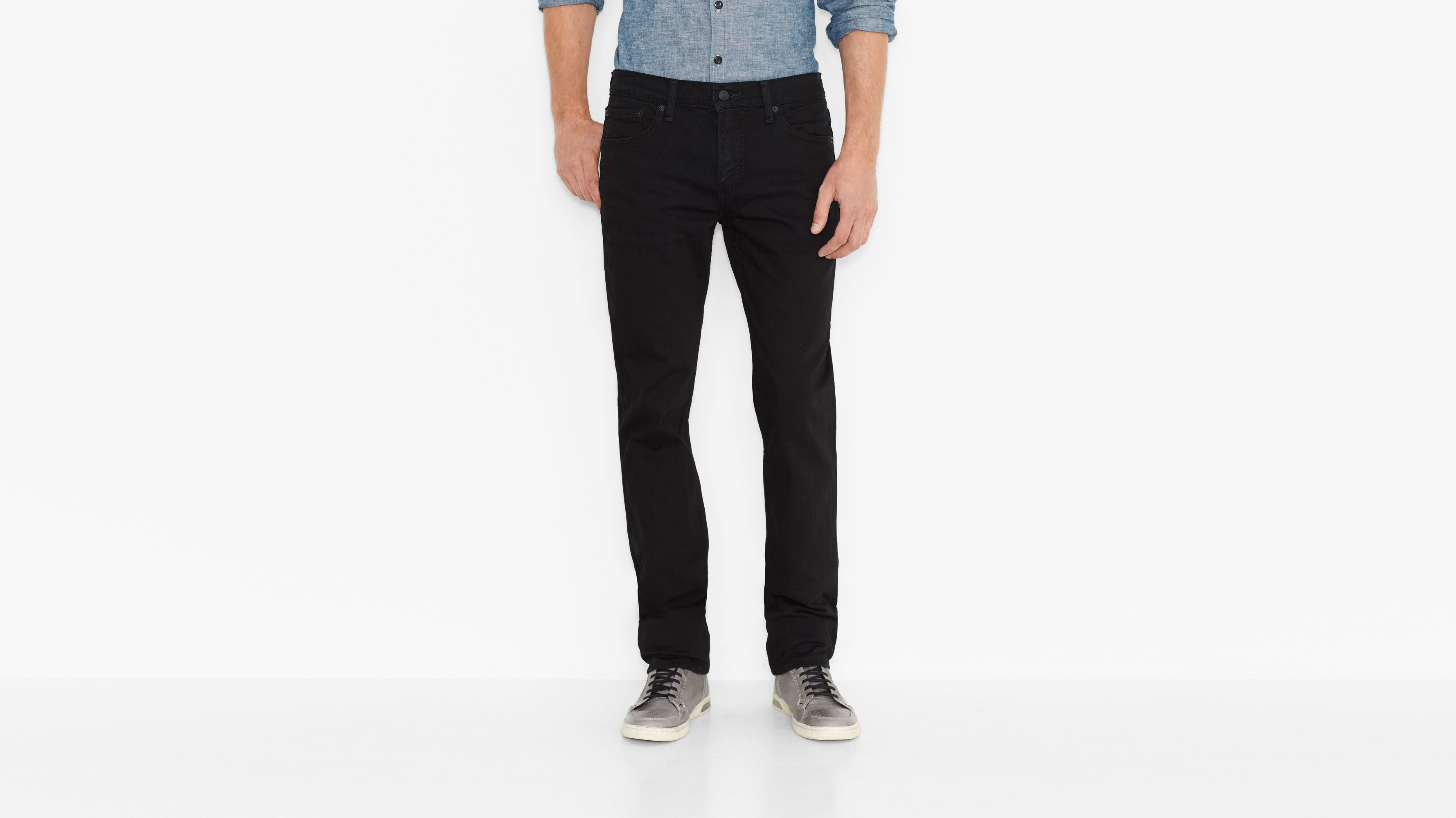511™ Slim Fit Jeans - Black Stretch